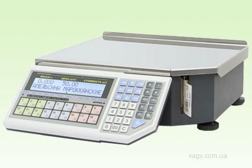 Весы красноярск электронные со стикером